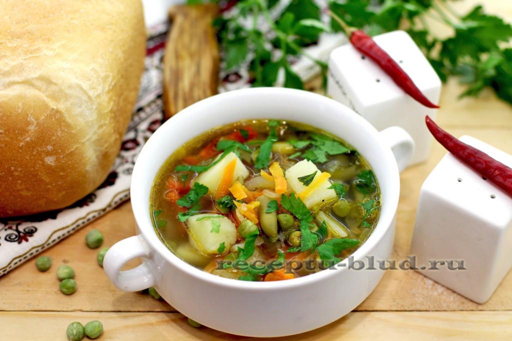 рецепт зеленого супа