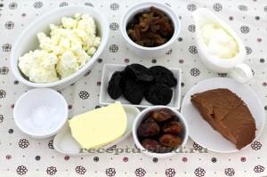 Ингредиенты для приготовления творожной пасхи