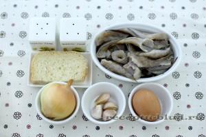 Ингредиенты для приготовления рыбных котлет на пару
