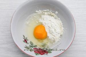 Яичный кляр приготолвление