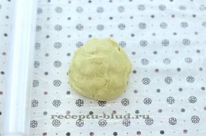 Тесто на кукурузное печенье