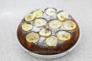 Домашний лимонный пирог