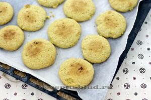 Печенье из кукурузной мки