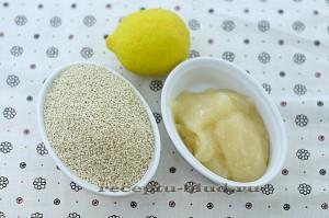 Ингредиенты для козинак из кунжута