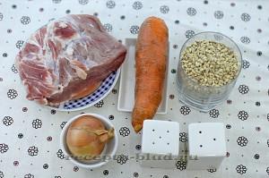 Ингредиенты для приготовления перловой каши