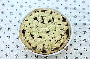 Готовый вкусный пирог с нутеллой