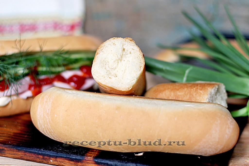 Булочки для хот-догов только с духовки