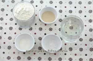 Набор продуктов для приготовления пресных лепешек