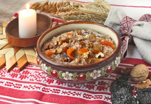 Кутья - рецепт из риса с изюмом и курагой