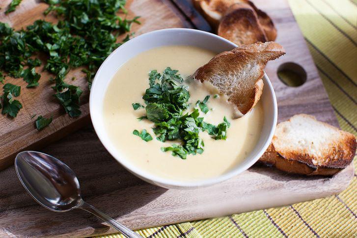 Вкусный крем-суп со сливками
