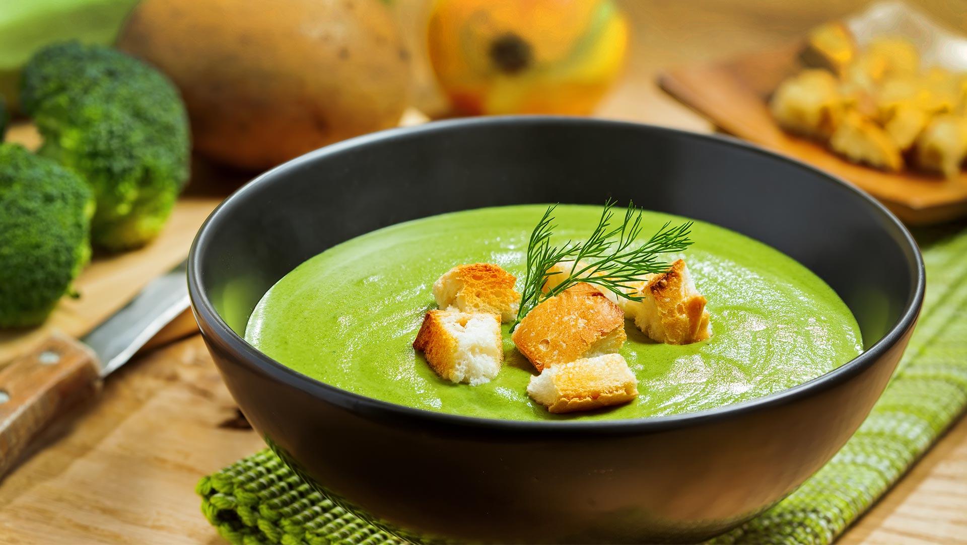 Крем суп из брокколи - рецепт